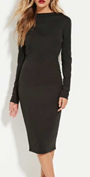 Forver 21 black dress