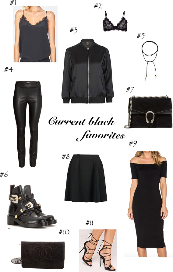 EDIT# current black favorites!