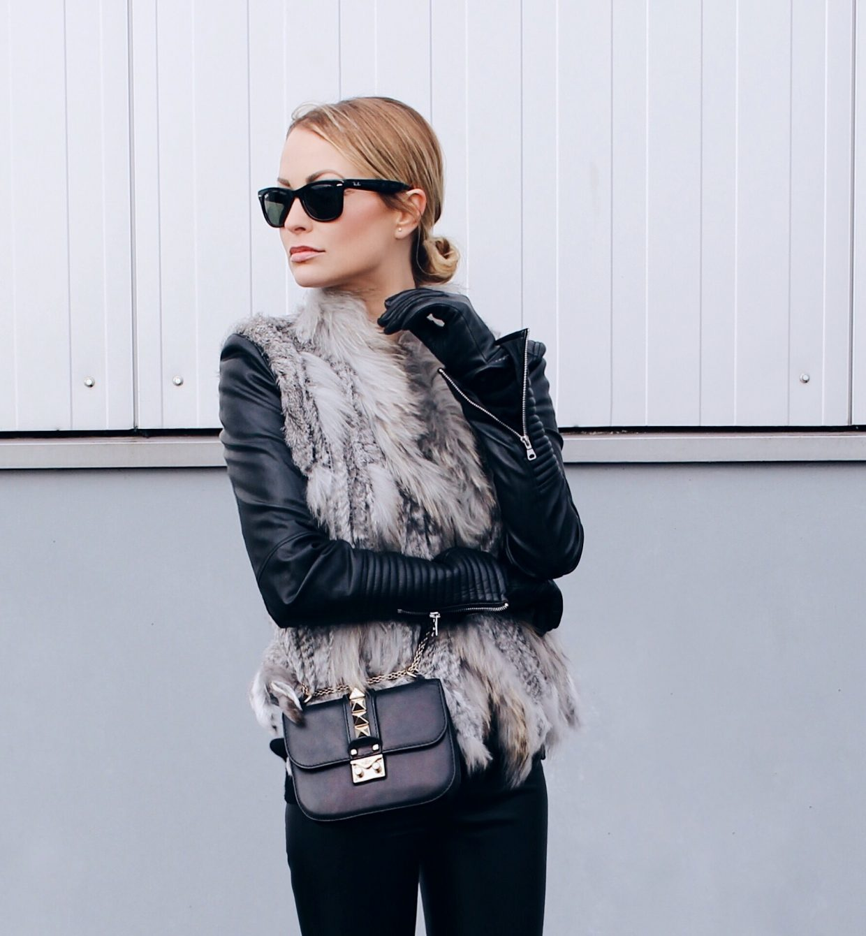 Berlin Fashion Week: Day #1 Leather X Faux Fur