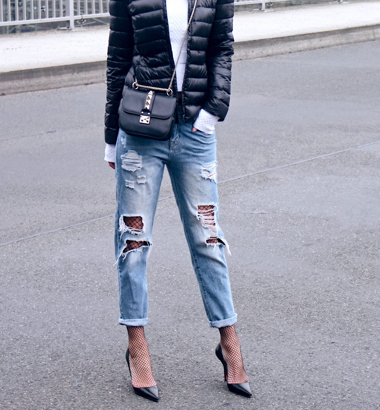 Trending: Fishnet X Denim!