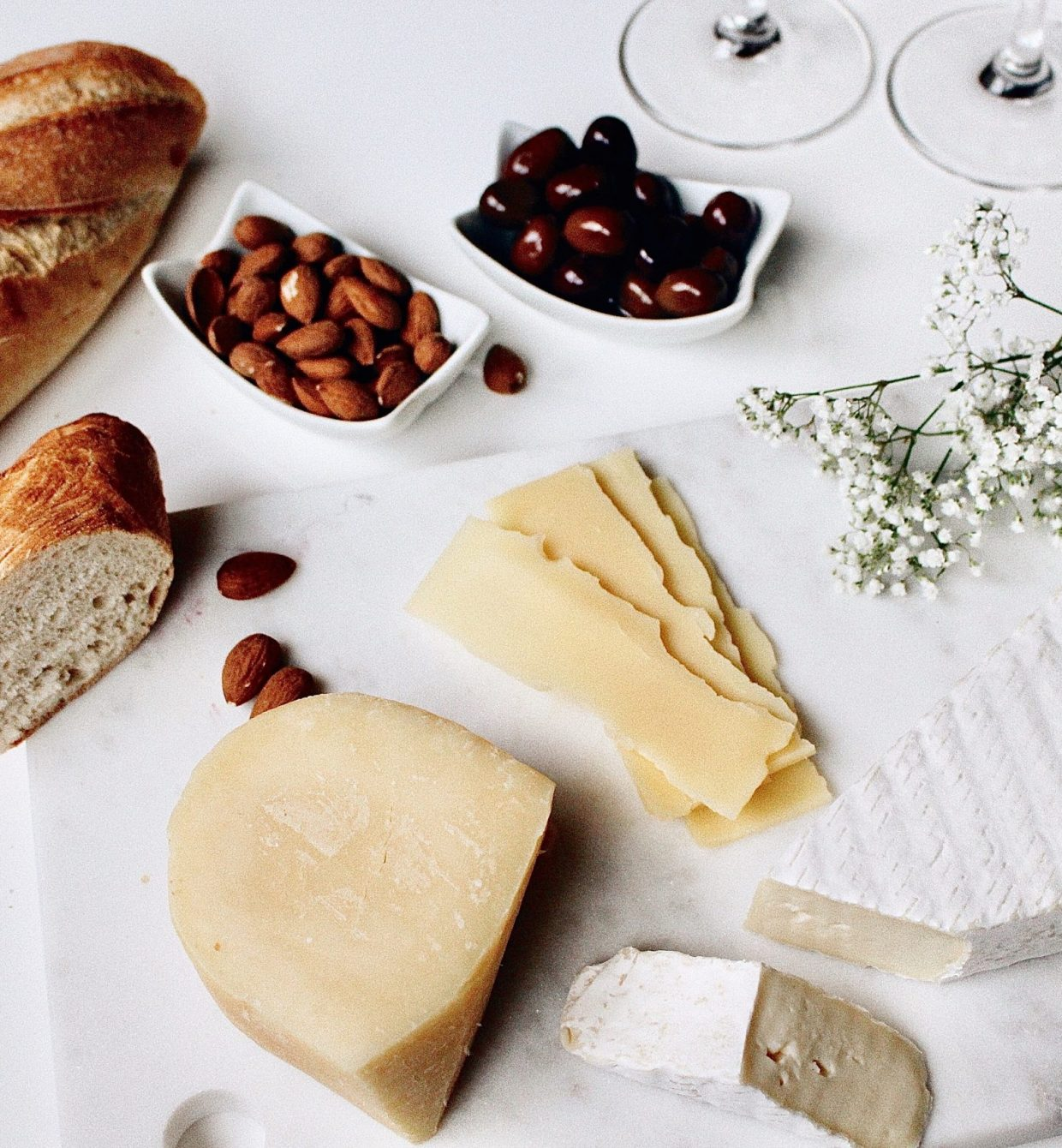The perfect cheese plate for any occasion.