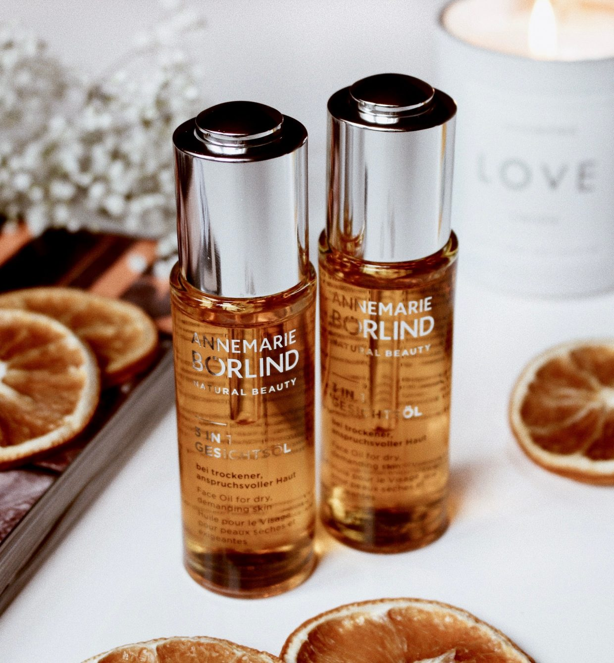 Beauty talk: The innovative, advanced face oil.